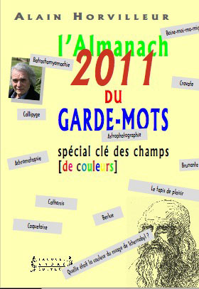 Couverture Almanach du Garde-mots