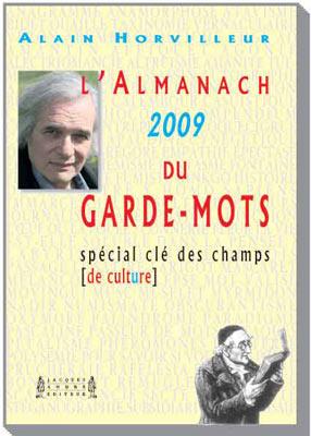 Couverture Almanach du Garde-mots
