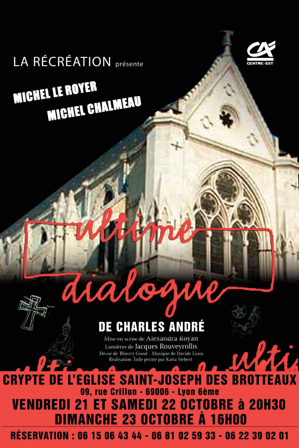 Affiche Ultime Dialogue