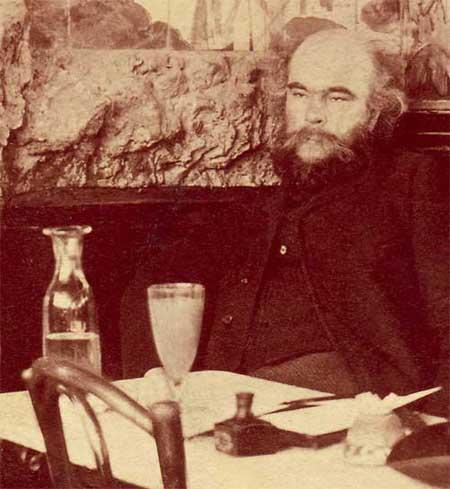 Paul Verlaine au café